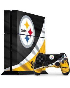 Pittsburgh Steelers PS4 Console and Controller Bundle Skin