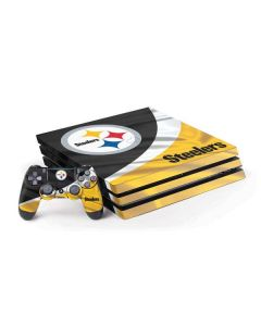 Pittsburgh Steelers PS4 Pro Bundle Skin