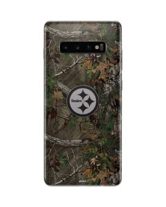 Pittsburgh Steelers Realtree Xtra Green Camo Galaxy S10 Plus Skin