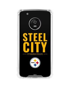 Pittsburgh Steelers Team Motto Moto G5 Plus Clear Case