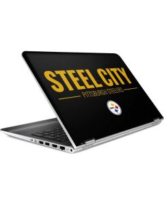 Pittsburgh Steelers Team Motto HP Pavilion Skin