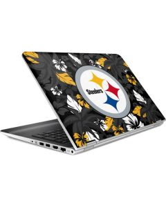 Pittsburgh Steelers Tropical Print HP Pavilion Skin