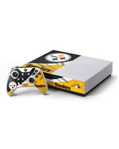 Pittsburgh Steelers Xbox One S All-Digital Edition Bundle Skin