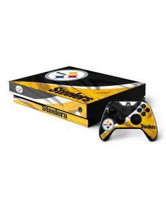 Pittsburgh Steelers Xbox One X Bundle Skin