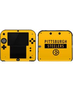 Pittsburgh Steelers Yellow Performance Series 2DS Skin