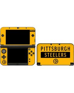Pittsburgh Steelers Yellow Performance Series 3DS XL 2015 Skin