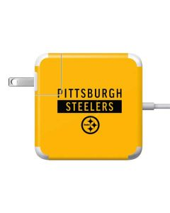 Pittsburgh Steelers Yellow Performance Series Apple Charger Skin