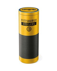 Pittsburgh Steelers Yellow Performance Series Amazon Echo Skin
