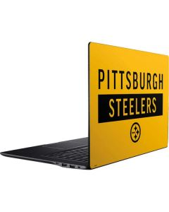 Pittsburgh Steelers Yellow Performance Series Ativ Book 9 (15.6in 2014) Skin