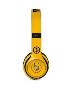 Pittsburgh Steelers Yellow Performance Series Beats Solo 2 Wired Skin