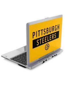 Pittsburgh Steelers Yellow Performance Series Elitebook Revolve 810 Skin
