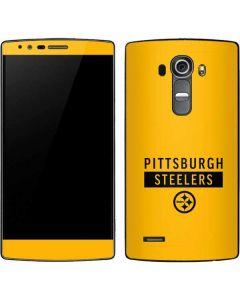 Pittsburgh Steelers Yellow Performance Series G4 Skin