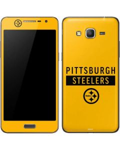 Pittsburgh Steelers Yellow Performance Series Galaxy Grand Prime Skin