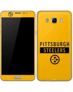 Pittsburgh Steelers Yellow Performance Series Galaxy J7 Skin