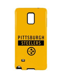 Pittsburgh Steelers Yellow Performance Series Galaxy Note 4 Pro Case
