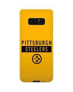 Pittsburgh Steelers Yellow Performance Series Galaxy Note 8 Lite Case