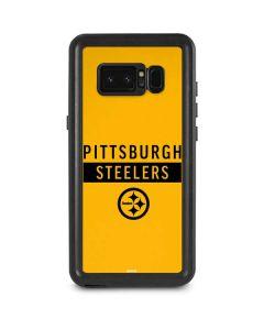 Pittsburgh Steelers Yellow Performance Series Galaxy Note 8 Waterproof Case