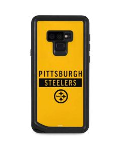 Pittsburgh Steelers Yellow Performance Series Galaxy Note 9 Waterproof Case