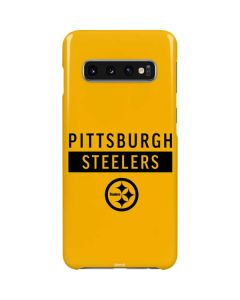 Pittsburgh Steelers Yellow Performance Series Galaxy S10 Lite Case
