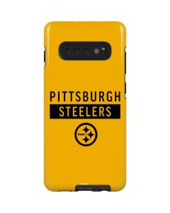 Pittsburgh Steelers Yellow Performance Series Galaxy S10 Plus Pro Case