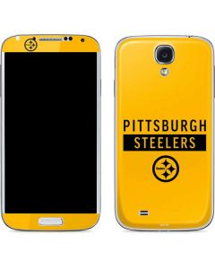 Pittsburgh Steelers Yellow Performance Series Galaxy S4 Skin