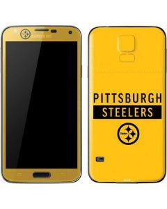 Pittsburgh Steelers Yellow Performance Series Galaxy S5 Skin