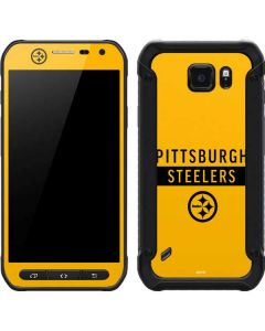 Pittsburgh Steelers Yellow Performance Series Galaxy S6 Active Skin