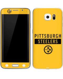 Pittsburgh Steelers Yellow Performance Series Galaxy S6 Edge Skin