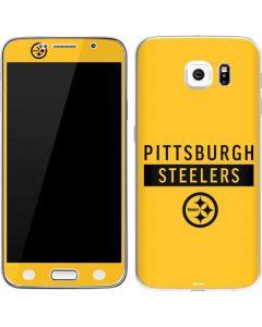 Pittsburgh Steelers Yellow Performance Series Galaxy S6 Skin
