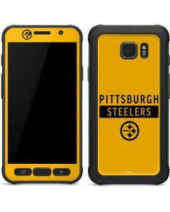Pittsburgh Steelers Yellow Performance Series Galaxy S7 Active Skin