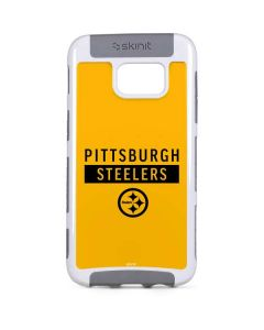 Pittsburgh Steelers Yellow Performance Series Galaxy S7 Edge Cargo Case