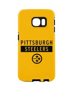 Pittsburgh Steelers Yellow Performance Series Galaxy S7 Edge Pro Case