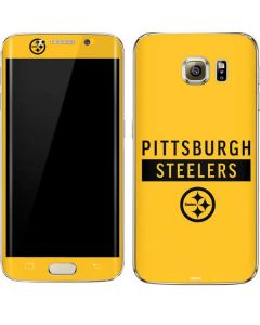 Pittsburgh Steelers Yellow Performance Series Galaxy S7 Edge Skin
