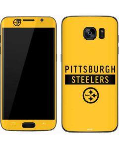 Pittsburgh Steelers Yellow Performance Series Galaxy S7 Skin