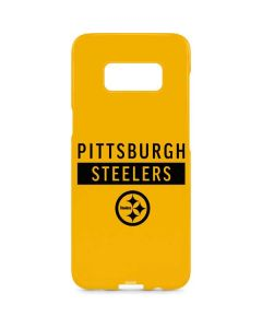 Pittsburgh Steelers Yellow Performance Series Galaxy S8 Plus Lite Case