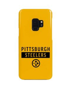 Pittsburgh Steelers Yellow Performance Series Galaxy S9 Lite Case