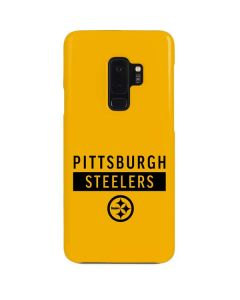 Pittsburgh Steelers Yellow Performance Series Galaxy S9 Plus Lite Case