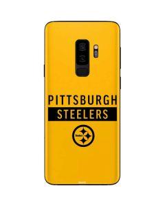 Pittsburgh Steelers Yellow Performance Series Galaxy S9 Plus Skin