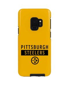 Pittsburgh Steelers Yellow Performance Series Galaxy S9 Pro Case