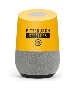 Pittsburgh Steelers Yellow Performance Series Google Home Skin
