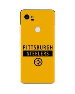 Pittsburgh Steelers Yellow Performance Series Google Pixel 2 XL Skin