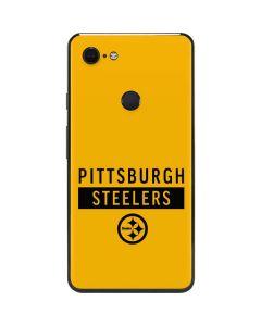 Pittsburgh Steelers Yellow Performance Series Google Pixel 3 XL Skin