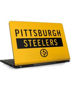 Pittsburgh Steelers Yellow Performance Series Dell Inspiron Skin