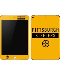 Pittsburgh Steelers Yellow Performance Series Apple iPad Mini Skin