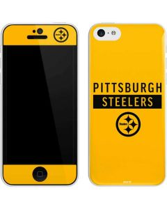 Pittsburgh Steelers Yellow Performance Series iPhone 5c Skin
