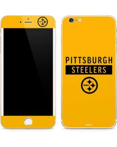 Pittsburgh Steelers Yellow Performance Series iPhone 6/6s Plus Skin