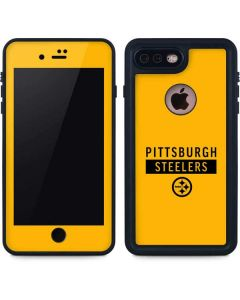 Pittsburgh Steelers Yellow Performance Series iPhone 7 Plus Waterproof Case
