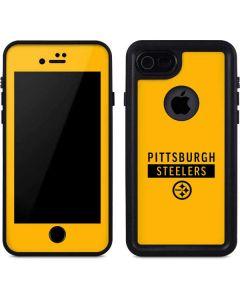 Pittsburgh Steelers Yellow Performance Series iPhone 8 Waterproof Case