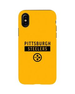 Pittsburgh Steelers Yellow Performance Series iPhone X Pro Case
