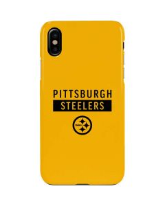 Pittsburgh Steelers Yellow Performance Series iPhone XS Lite Case